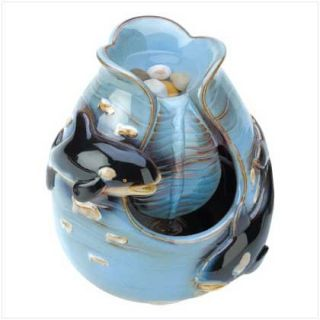 Falling Waters Mini Indoor Table Water Fountain New