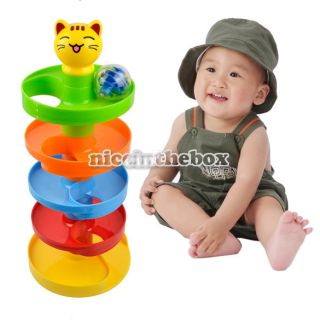 Tower Ramp Ball Set Baby Play Infant Developmental Toys New