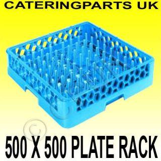500mm Commercial Dishwasher Basket Tray Plate Rack