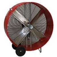 Ventamatic 42 Portable Belt Drive Barrel Fan Industrial Farm