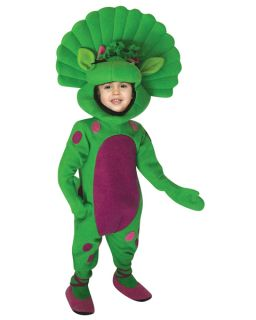 Barney Baby Bop Dinosaur Costume Child Toddler Size 3 4