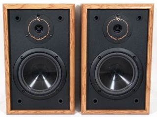 Infinity 2 Way Bookshelf Speakers Pair RS 225 Mint