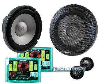 INFINITY KAPPA PERFECT SERIES 6 1 2 800W MAX 2 WAY COMPONENT CAR AUDIO