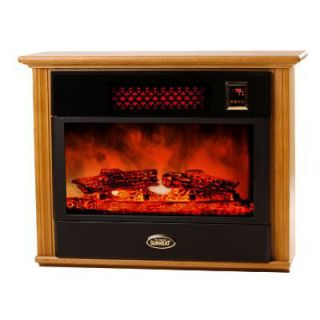 Elite Heat Infrared Electric Fireplace by Sunheat Heaters SHF15