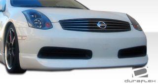 2003 2007 Infiniti G Coupe G35 Urethane Wings Front Lip Spoiler Body