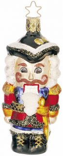 Inge Glas Heirlooms The Nutcracker German Mouth Blown Glass Christmas