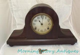 Antique Ingraham Mantle Clock Strike Bell