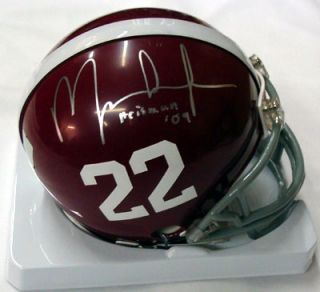 Mark Ingram Autographed Signed Alabama Mini Helmet Heisman RookieGraph