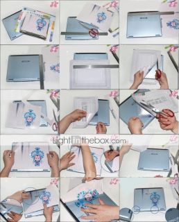 USD $ 6.99   Laptop Notebook Cover Protective Skin Sticker(SMQ2387