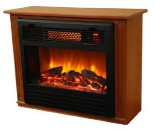 Smart+ Products Electric Infrared Quartz Fireplace Heater Cherry SPP