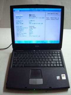 Dell Inspiron 2650 1 6GHz Intel P4 CPU 256 MB Memory Ram PARTS or