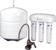 Reverse Osmosis Drinking Water Filter Set w Oil Rubbed Bronze Faucet
