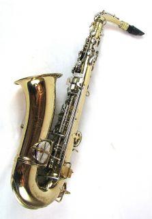 Vintage CG Conn Alto Sax Saxophone Instrument with Case