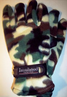 Men's Thermo Wear Fleece Camo Insulated Lined Thermal Winter