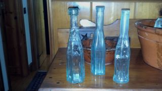 Ink Bottles 13 and Pepper Sauce Bottles 3