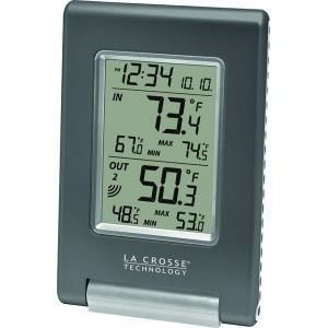 TECHNOLOGY WS 9080U IT CBP Wireless Temperature Station Atomic clock