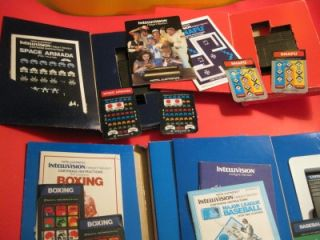 Intellivision Vintage Video Game Console Intellivoice Plus Great Games