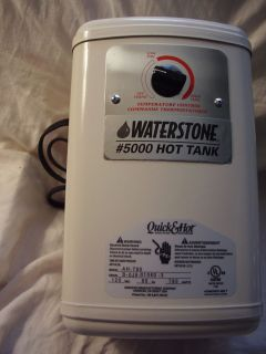 Electric Instant, On Demand Hot Water Heater 1/2 gal Tank Waterstone