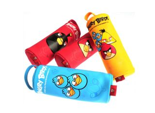 Angry Birds Writing Instruments Set_Pencil case,Multi colors ballpoint