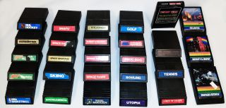 27 Intellivision Games Includes Donkey Kong and Burgertime