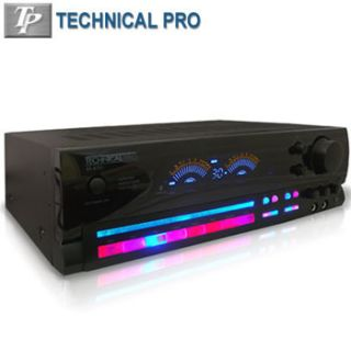 Integrated AMPLIFIER RECEIVER 1500 Watts TECHNICAL PRO AM FM Tuner
