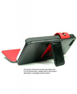 Wallet Card Hold Flip Stand Cover Case for iPhone 5 U416B