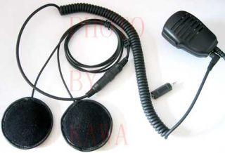 Motorcycle Helmet Speaker Headset for Radio Intercom 35