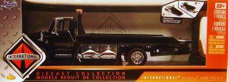 24 International Flat Bed Tow Truck Jada Die Cast Black