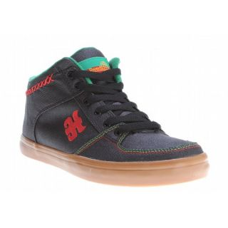 IPATH Reed Mid Skate Shoes Waxed Black Rasta Hemp