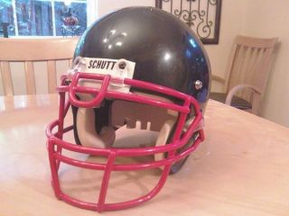 New Schutt Football Helmet Medium Black Air 4 Youth