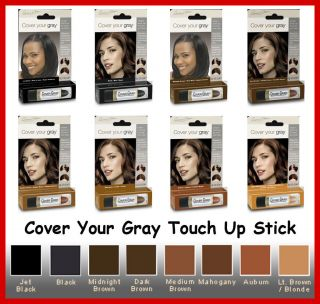 Cover Your Gray Touch Up Hair Color Stick by Irene Gari Pick Your 1
