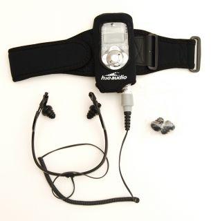 H2o Audio Waterproof 2nd Generation Ipod Case & Headphones Never Used