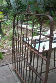 Antique Iron Gate Victorian Style Springfield 1800S
