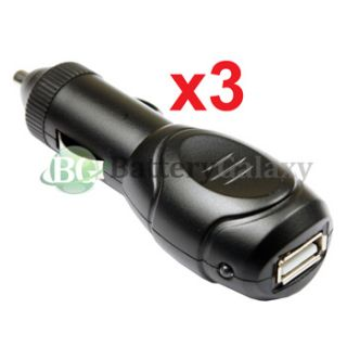 USB Rapid Fast Battery Travel Universal Car Power Outlet Charger