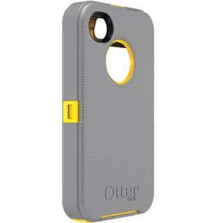 Otterbox Defender Series Case for iPhone 4 4S Sport Grey Yellow