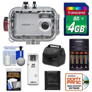 Intova CP 9 Digital Camera 130 Waterproof Underwater Housing Kit CP9