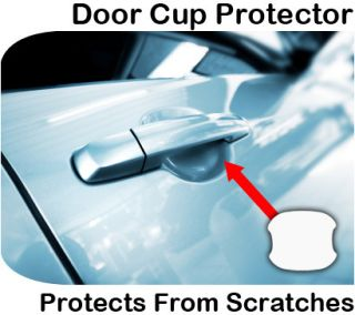 Clear Car Door Handle Invisible Paint Scratch Protection Film