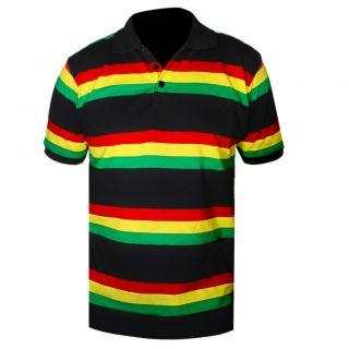 Rasta Reggae Jamaica Irie Polo Shirt Rasta Reggae Polo