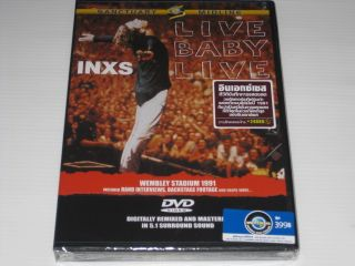 INXS Live Baby Live Thai Limited DVD All