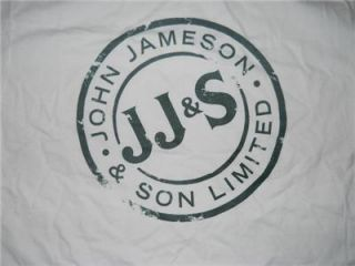 Jameson Irish Whiskey Shirt XL New