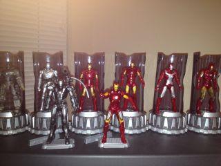 Iron Man 3 75 Mark 1 2 3 4 5 6 7 Avengers War Machine Lot