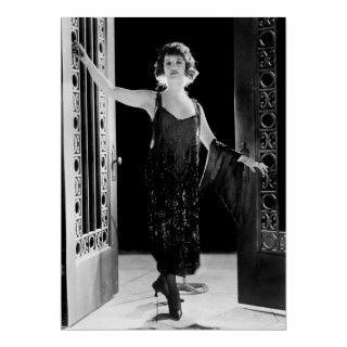Vestido fabuloso de la aleta los años 20 impresiones de