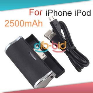 Mobile Battery Pack Power External Battery Fr Apple iPhone iPod Touch
