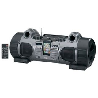 Portable iPod iPhone Dock Docking Station CD MP3 Player Stereo Boombox