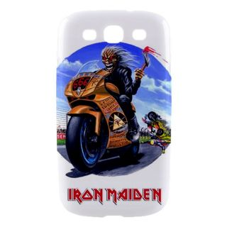 Iron Maiden Rock Band Samsung Galaxy SIII S3 Hard Shell Case Cover