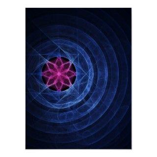 lotus circle ring poster