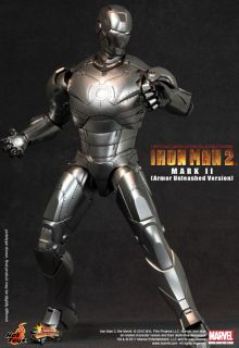 Hot Toys Ironman 2 Mark II Armor Unleashed Jim Rhodes
