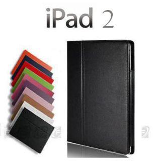 iPad 2 Folio Magnetic PU Leather Smart Cover Case Stand Multi Color