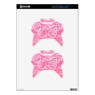 Pink Camo XBox 360 Controller Skin