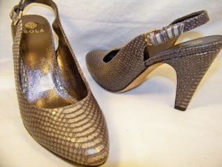 Isola Serena Taupe Grey 7 5 Heels Womens New Shoes